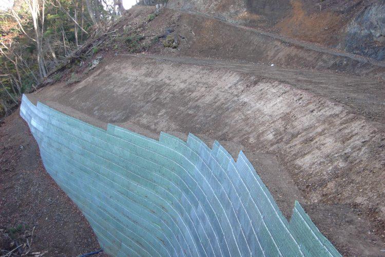 緑の生活林道建設事業(深見大布施線 倉谷1工区)