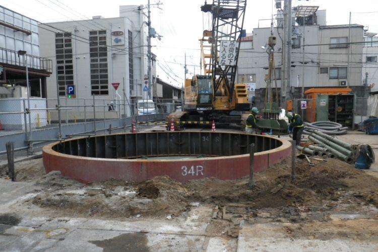 塩小路幹線(その1)公共下水道工事