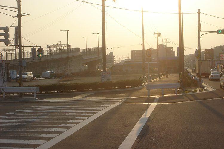 桃山東第二地区 街路構成その1工事